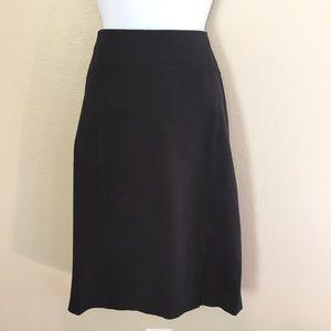 Banana Republic Black Pencil Skirt 10 Tall